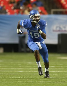 Georgia State receiver Robert DavisPhoto Credit: Jason Getz